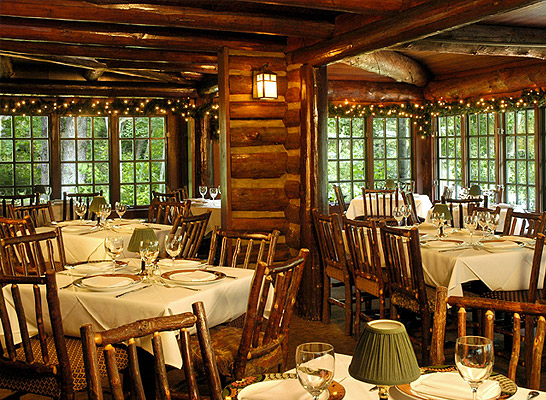 Welcome To Log Haven Restaurant